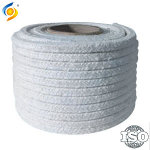 Ceramic Fibre Square Round Twisted Rope Stainless Steel Wire Reinforced