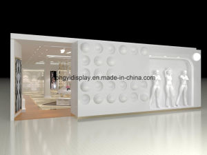 Designer Garment Rack for Ladies Garment Shop Interior, Wall Unit pictures & photos