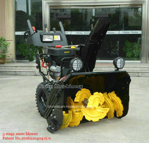 "Double Efficiency New Technique 420cc 30"" Width 3 Stage Snow Blower pictures & photos"