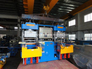Vacuum Rubber Vulcanizer Press Equipment for Silicone Band Oil Seal (25V3) pictures & photos