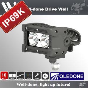 IP69k Black Star CREE LED Light Bar for Racing