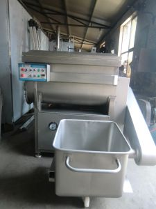 CE Certificated Vacuum Meat Mixer/Zjzb-300 Frozen Meat Mixer/Industrial Meat Mixer pictures & photos