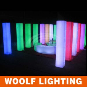 LED Illuminated Wedding Collumn Lighting Pillar Decor pictures & photos