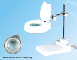 Environmental Protection Table Base Magnifying Lamp pictures & photos