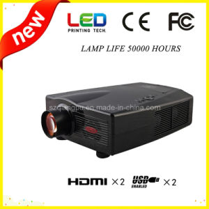 720p HD Home Theater with TV, HDMI, USB, Video LED Projector (SV-800) pictures & photos