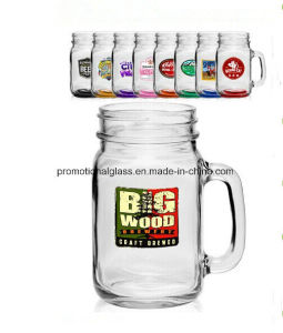 Sublimation Mason Jar, Personalized Mason Jar with Customer Logo