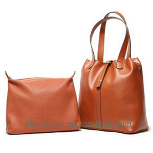 Fashion Leather Harry Carried Bag for Lady (MH-6026) pictures & photos