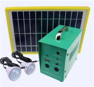 Portable off The Grid Solar Lighting Kits for Home pictures & photos