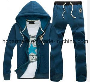 Men′s Hoodie Suit, Customer Sports Wear, Outdoor Sweatshirt, pictures & photos