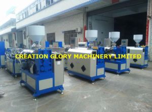 Stable Running Plastic Extruder for Making Teflon Plastic Pipe pictures & photos