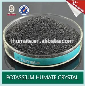 98% Super Potassium Humate Extract From Leonardite / Lignite pictures & photos