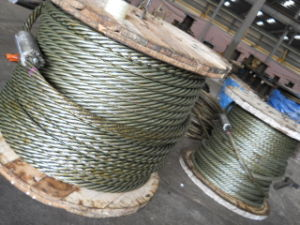 DIN3055 Galvanzied Wire Rope Steel Wire Rope pictures & photos