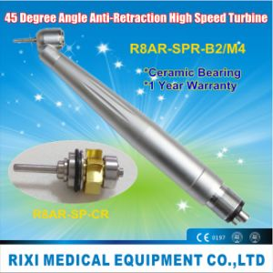 LED Anti-Retraction 45 Degree Angle High Speed Dental Equipment