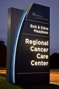 Hospital Outdoor Public Directory Identity Pylon Monument Signage pictures & photos