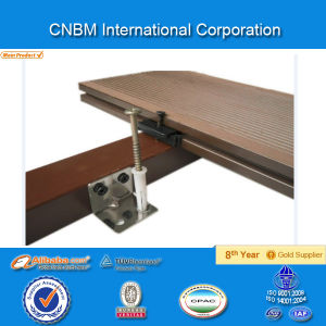 Wood Plastic Composite Project Decking/Deck Board/with CE Certificate