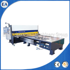 CNC Front Feeding Guillotine Shearing Machine pictures & photos