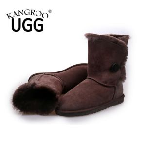 Genuine Australian Double Face Sheepskin Winter Boots for Women pictures & photos