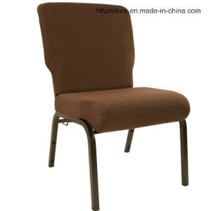 "20.5"" Wide Metal Church Chair"