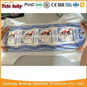 One Colour One Design PE Film Disposable Baby Diaper for South America pictures & photos