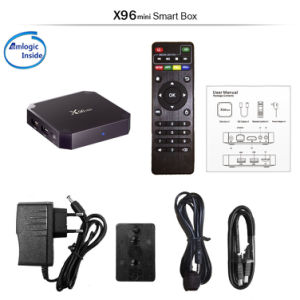 Quality Android Smart TV Box X96 Mini with Amlogic S905W 1GB RAM 8GB ROM Android 7.1.2 TV Box pictures & photos