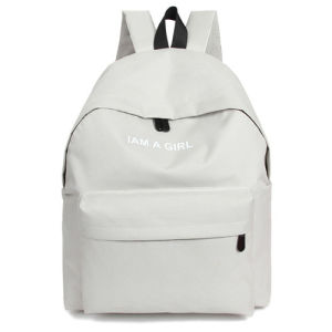 Girls Outdoor Travel Leisure Laptop Canvas School Backpack Bag pictures & photos