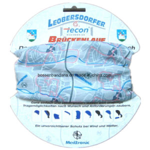 Factory Produce Custom Print Polyester Multifunctional Buff Tubular Headwear pictures & photos