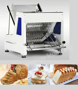 Commercial Bakery Machine 12mm Automatic Electric Bread Slicer Price pictures & photos
