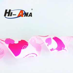 Hot Products Custom Design Top Quality Flame Print Ribbon pictures & photos