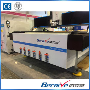 1325 High Precision Cutting Wood/Metal/Acrylic/PVC Hyrid Servo Drive Double Screw Engraving CNC Router pictures & photos