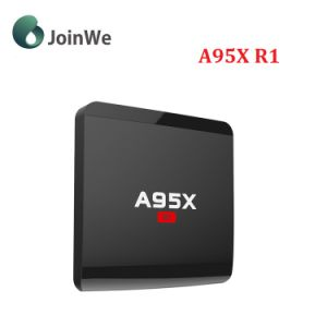 A95X R1 Android 7.1 TV Box S905W Quad Core 1GB 8GB Media pictures & photos
