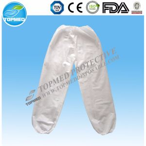 Disposable Long Trousers, Nonwoven Siamese Trousers for SPA pictures & photos