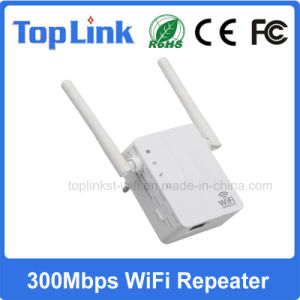 Indoor Long Distance 300Mbps Wireless WiFi Repeater pictures & photos