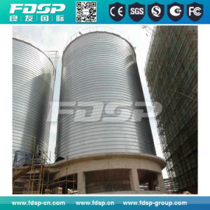 Durable and Reasonable Industrial Wood Sawdust Vertical Metal Silo pictures & photos