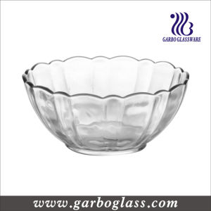 Luminarc Big Size Lotus Flower Glass Salad Bowl (E9986) pictures & photos