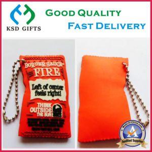 Customized 3D Logo Souvenir PVC Keyholder pictures & photos