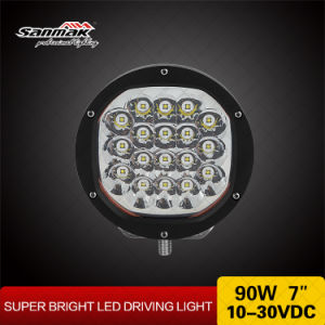"7"" 90W High Power Spot Light LED Driving Light pictures & photos"