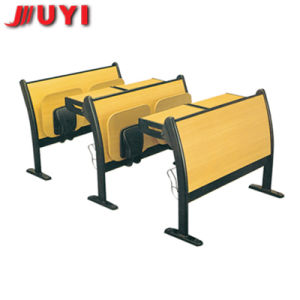 Jy-U271 Black Matel Student Desk and Chair pictures & photos