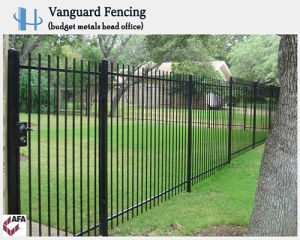 Hot Sales Powder Coated Pressed Spear Steel Security Fencing pictures & photos