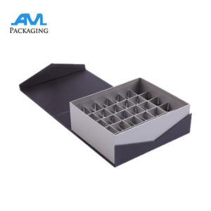 Decorative Custom Large Capacity Chocolate Box with Compartment with Hinged Lid pictures & photos