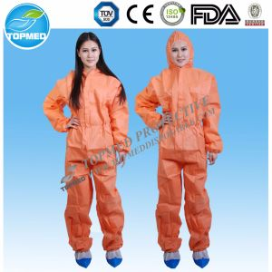 Disposable Coverall/Nonwoven Coverall Protective Garment pictures & photos