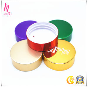 Metal Screw Cap for Cosmetic Packaging Use pictures & photos