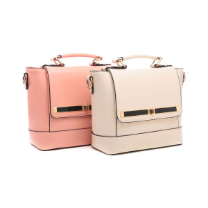 Delicate Cross Lock Lid Mini Tote Bag for Women (MBNO043069) pictures & photos
