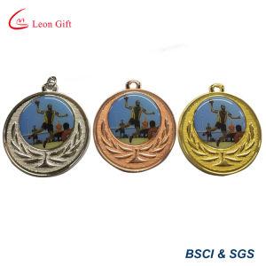 Custom Wholesale Metal Enamel Running Medals pictures & photos