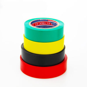 High Quality PVC Insulation Electrical Tape Colorful Vini Adhesive Tape pictures & photos