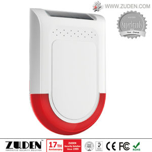 Solar Alarm System with Flashing Siren pictures & photos