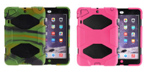 3 in 1 Full Protection Silicone+Plastic Tablet PC Protective Cover Case for iPad Mini pictures & photos