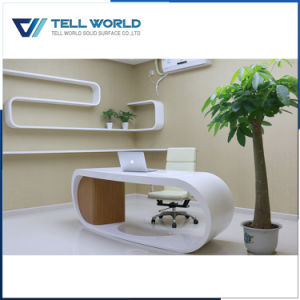 Corian Office Desk with Multi Color Choose Office Table Oval Office Desk pictures & photos