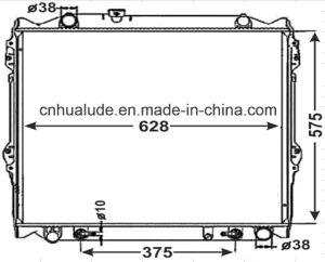 Hot Sale Cheap Aluminum Plastic Auto Car Radiator for Kzn pictures & photos