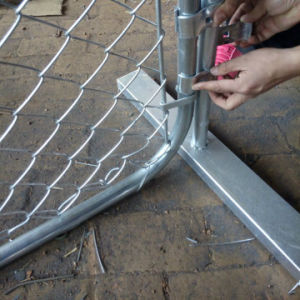 Galvanized 50X50mm Chain Link Fence pictures & photos