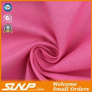 Linen/Cotton Dyeing Fabric for T-Shirt Pants Garment Textile